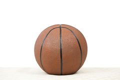 Basketball On White Royalty Free Stock Image