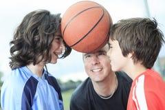 Basketball who having fun Stock Image
