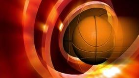 Basketball-Wiedergabe stock video