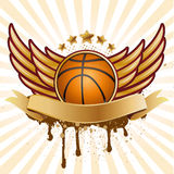 basketball and wing Stock Photos