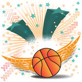 Basketball wings Stock Images