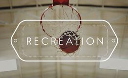Basketball Winning Point Competition Concept Stock Images