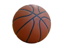 Basketball With A Clipping Path Royalty Free Stock Images