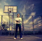 Basketball woman Stock Image