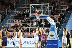 Basketball women 21.10.2012, city of Orenburg, Sou Stock Photo