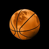 Basketball world Royalty Free Stock Photos