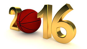 Basketball 2016 year Royalty Free Stock Image