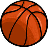 Basketballball-Karikaturclipart Lizenzfreies Stockfoto
