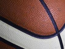 Basketballbeschaffenheitsmakro Lizenzfreies Stockfoto