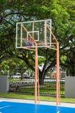 Basketballbrett und -band Stockfoto