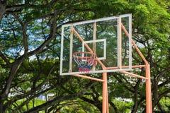 Basketballbrett und -band Stockbild