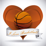 Basketballdesign Lizenzfreie Stockfotos