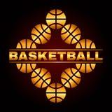 Basketballdesign 3 Lizenzfreie Stockfotos