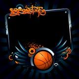 Basketballfahne Stockfoto