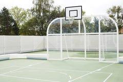 Basketballfeld Stockfotos