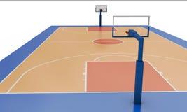 Basketballfeld Lizenzfreie Stockfotografie