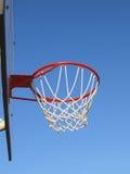 Basketballfelge und -netz Lizenzfreie Stockbilder