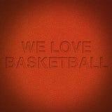 Basketballhintergrund Lizenzfreies Stockbild