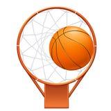 Basketballikone Lizenzfreie Stockfotografie