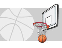 Basketballillustration lizenzfreie stockfotografie