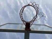 Basketballkorb stockfotografie