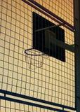Basketballkorb Stockbild