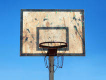 Basketballkorb Stockfoto