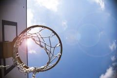 Basketballkorb Stockfoto