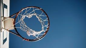 Basketballkorb Lizenzfreies Stockfoto