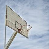 Basketballkorbdetail Stockfotos