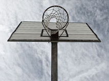 Basketballkorbdetail Stockfoto