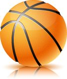 Basketballkugel. Stockbild