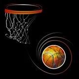 Basketballkugel 2 Stockbilder