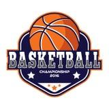 Basketballlogo, Amerika-Logo Lizenzfreie Stockfotos