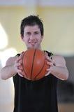 Basketballmann Lizenzfreie Stockbilder