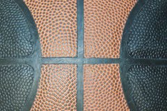 Basketballnahaufnahme, Beschaffenheit Stockfoto