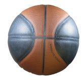 Basketballnahaufnahme, Beschaffenheit Lizenzfreie Stockfotos