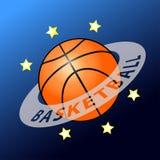 Basketballplanet Lizenzfreie Stockbilder
