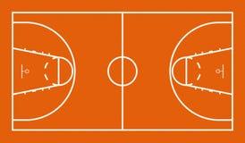 Basketballplatz Lizenzfreies Stockbild