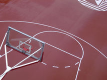 Basketballplatz Lizenzfreie Stockbilder