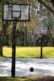 Basketballplatz Stockfotos