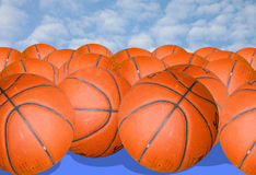 Basketballs Stock Photography