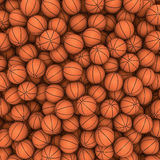 Basketballs background Stock Image