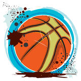 Basketballs.eps sujo Foto de Stock Royalty Free