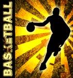 Basketballsaisonflugblatt Lizenzfreies Stockbild