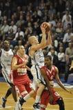 Basketballschießen, Ben Woodside Stockfotografie