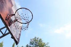 Basketballschlüssel stockfoto