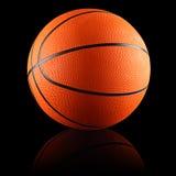 Basketballschwarzes Stockfotografie