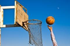 Basketballspiel Stockfoto