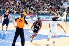 Basketballspiel lizenzfreie stockfotos